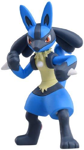 TAKARA TOMY TakaraTomy Pokemon XY Monster Collection Super Größe msp-04Lucario Action Figur