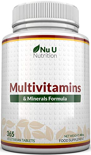 Integratore Multivitaminico e Multiminerale | 365 Compresse (Fornitura Fino A 1 Anno) | 24 Vitamine...