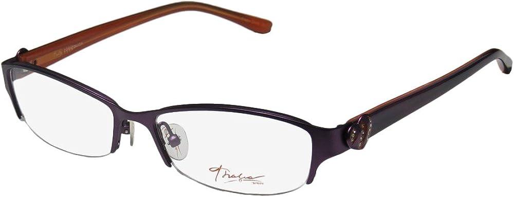 Thalia Corazonada Womens/Ladies Half-rim Crystals Special With Rhinestones Eyeglasses/Glasses