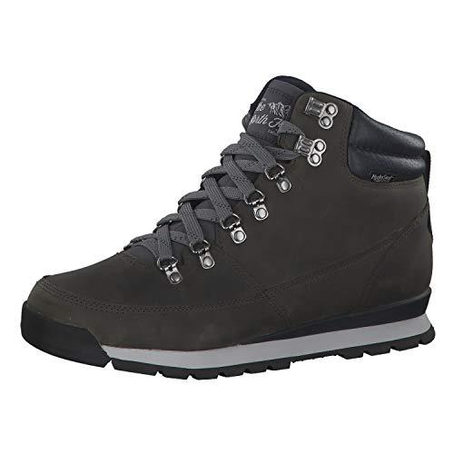 The North Face M B2b Redux Leather, Stivali da Escursionismo Alti Uomo, Grigio (Zinc Grey/Ebony Grey H73), 43 EU