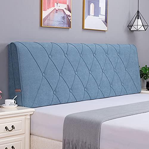 Comodino Schienale Cuscino Memory Foam Filled lettura sul comodino cuscino estraibile e lavabile hotel Divano Posizionamento Supporto cuscino decorativo Adatto a letto senza testata,K2,59×22.8×2.3 in
