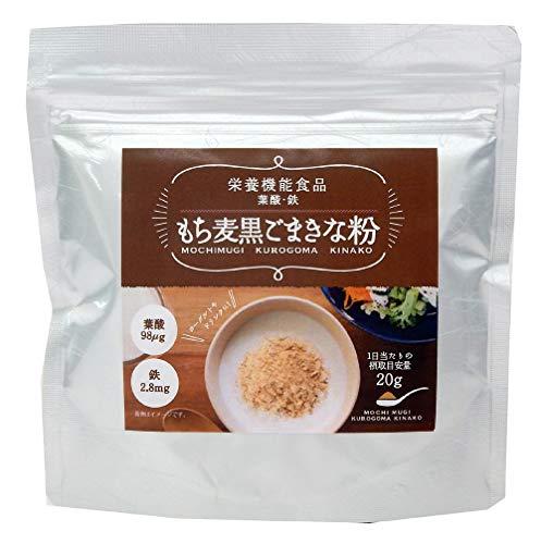 タクセイ もち麦黒ごまきな粉 150g ×4袋