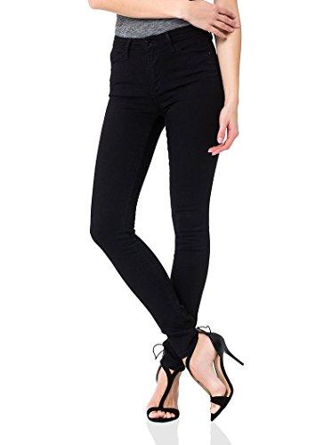 Cross Jeans Damen Jeanshose Natalia, P 448-030, Schwarz (black 030), W25/L32