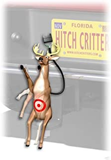 Hitch Critters 3591 Don't Shoot Deer Moving Ball Hitch Cover and Brake Light