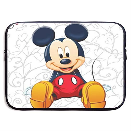 Mickey Mouse Set Laptop Sleeve Bag 13 Inch Tablet Briefcase Ultra Portable Protective, Laptop Canvas Cover MacBook Air, MacBook Pro, Notebook Computer Sleeve Case