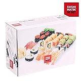 Appetitissime Matik Lot de 8moules pour sushis Blanc 21x 15,1x 8,4cm