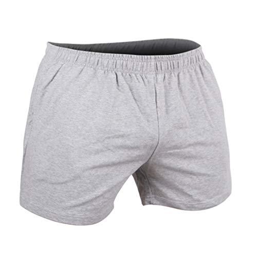 GYMAPE Pantaloncini da Allenamento da Palestra da Uomo per Bodybuilding Sport Fitness 5 Inseam