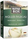 Wine Box Müller-Thurgau Landwein Rhein halbtrocken Bag-in-Box
