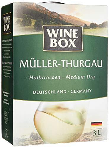 Wine Box Müller-Thurgau Landwein Rhein halbtrocken Bag-in-Box (1 x 3 l)