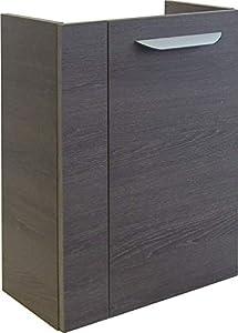 Fackelmann Lavella–Mini–Mueble bajo Lavabo, Derecha, Roble coñac/Coñac Roble/Mueble de baño