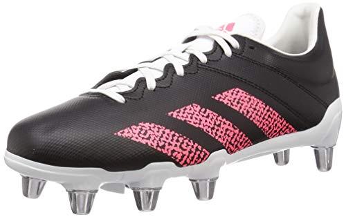 adidas Unisex Adults Kakari (SG) Rugby Shoes, NEGBÁS/ROSSEN/BALCRI, 7.5 UK