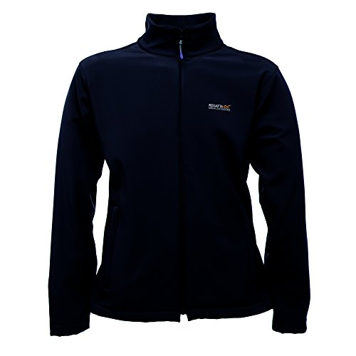 Regatta - Herren Softshell-Jacke, leicht, Modell Cera III, Kollektion Great Outdoors, für den Mann / Gentleman, schwarz, UTRG845_36 Medium