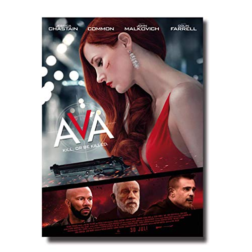 ava Movie Poster Art Painting Room Decor Print Wall Picture Canvas Wall Art Posters Painting Print Living Room Home Decor -50x70cm No Frame