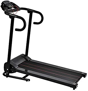 Murtisol 1100W/1119W Folding Treadmill Good for Home/Apartment Fitness Compact Electric Running Exercise Machine with Safe Handlebar and LCD Display Easy Control