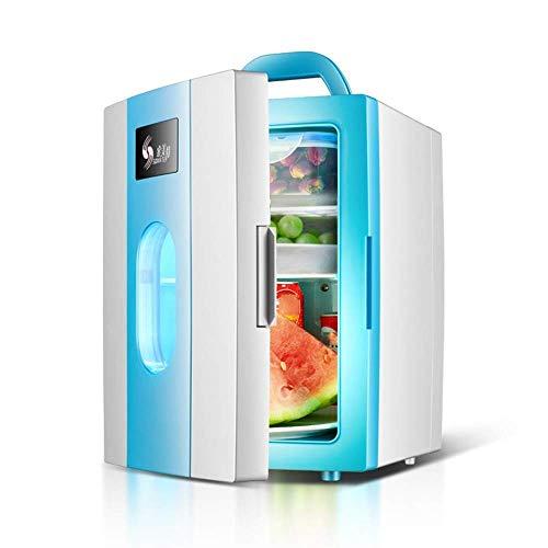 LONGJUAN-C coches Mini 10l portátil coche de Doble Uso Pequeño Refrigeración Congelador, 12v-220v eléctrico enfriador/calentador - for las Partes, Residencial, Acampar Refrigerador