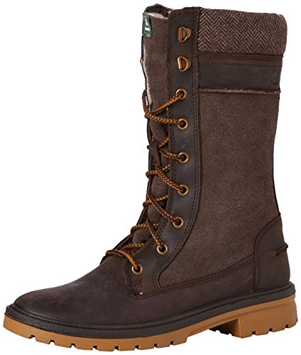 Kamik ROGUE9 Schneestiefel Damen, Braun (Dark Brown- Brun Fonce Dbr), 40 EU