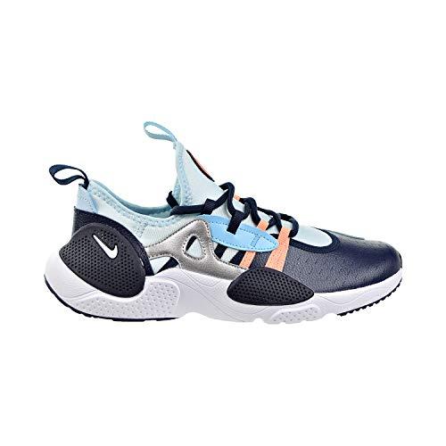 Nike Huarache E.D.G.E. (GS) Big Kids Zapatos Obsidiana Blanco/Topaz Niebla/Azul Gaze aq2431-402