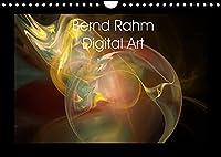 Bernd Rahm Digital Art (Wandkalender 2022 DIN A4 quer): Galerie von abstrakten Grafiken (Monatskalender, 14 Seiten )