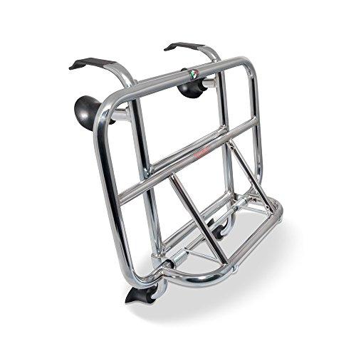 Gepäckträger vorne - chrom - Cuppini für Vespa LX & S 50 125 150-38x25cm