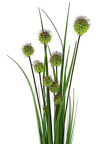 SIDCO Dekobündel Schilfgras künstliche Pflanze Blumen Deko Grasbüschel Gräser Raumdeko