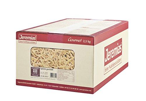 Jeremias Spätzle geschabt, Gourmet Frischei-Nudeln, 1er Pack (1 x 2.5 kg Karton)