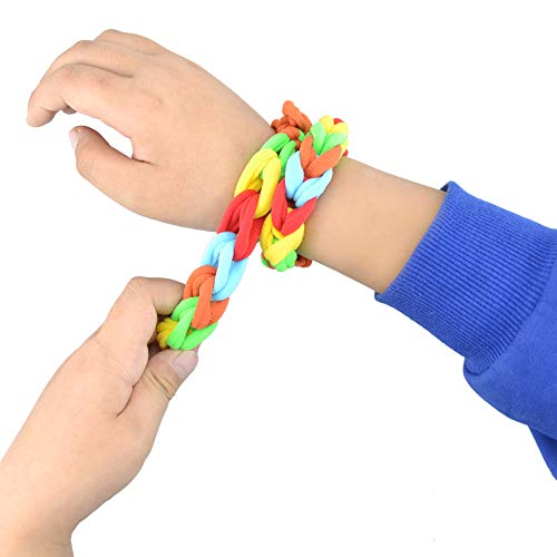 2 Pack Sensory Chewing Bracelet for Autism ADHD Oral Motor Children with Cotton Fabric Fidget Bracelet to Stress and Anxiety Relief