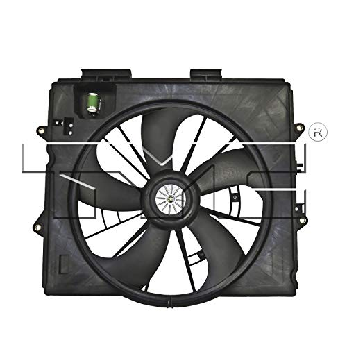 TYC 611340 Replacement Cooling Fan Assembly Compatible with Honda
