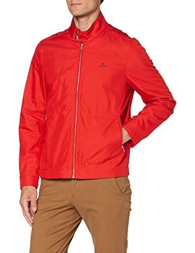 Gant D1. The Casual Shield Jacket Chaqueta, Fiery Red, XL para Hombre