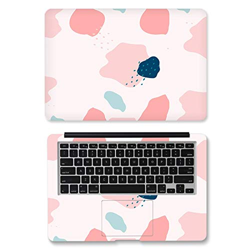 Laptop Sticker Laptop Skin Vinyl Sticker Art Decal Lovely Flower Double Sided 12/13/14/15/17-inch Notebook Computer Decoration-CT511-13inch