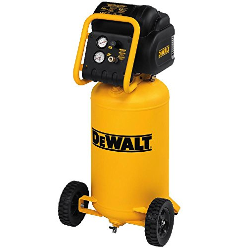 DEWALT D55168 225 PSI 15 Gallon 120-Volt Electric Wheeled Portable Workshop Compressor