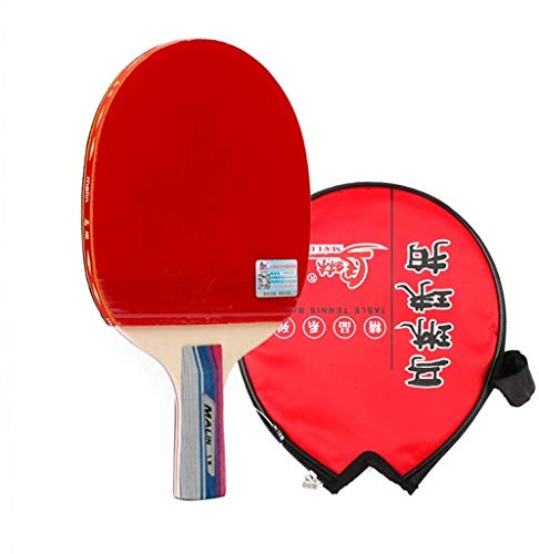 Sale!! Professional Ping Pong Paddle Racket Table Tennis Racket Ping Pong Paddle for Beginner with A...