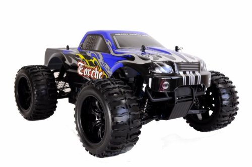 Amewi 22032 – Monster Truck Torche 2,4 GHz M 1 : 10 RTR (Couleurs Assorties)