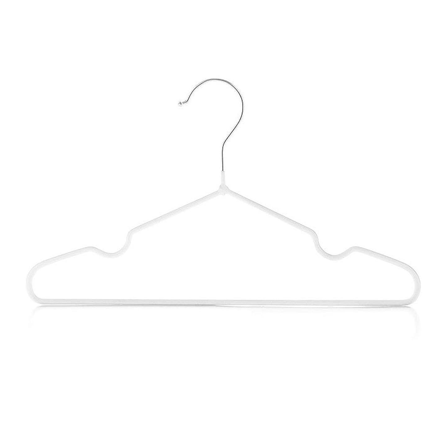 脊椎トラック発送ハンガー 25個入り子供用衣服ハンガー濡れて乾燥した溝のある子供用衣服子供用の大胆な滑り止め服 ベーシックハンガー (Color : D, Size : 29.5x17x0.4cm)