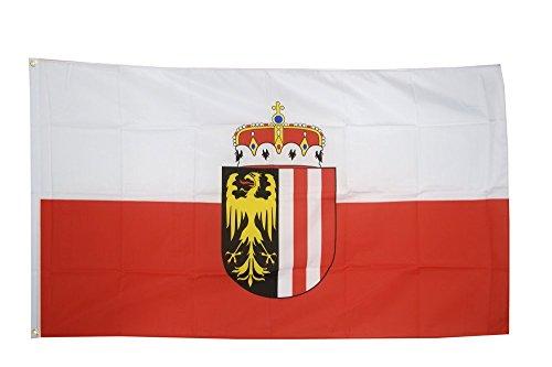 Flaggenfritze Fahne/Flagge Österreich Oberösterreich + gratis Sticker