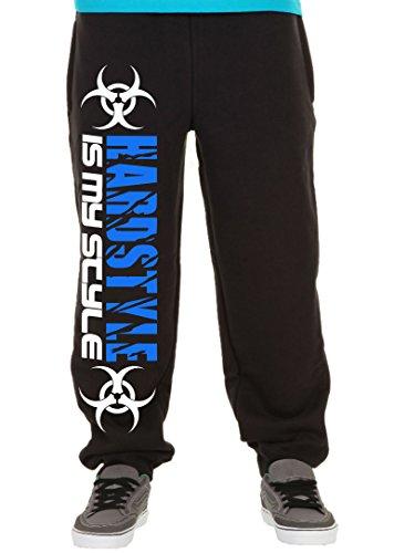 Hardstyle is My Style Joggingbroek voor heren en heren, hardcore muziek Techno Gabber cadeau, M2
