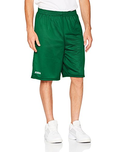 Joma Basketball/Herr Shorts Short Basket Reversible Rookie 100529.450-A Grün-Weiss 116