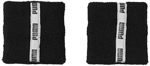PUMA Unisex– Erwachsene TR ESS Wristbands Classic schweißband, Black, UA