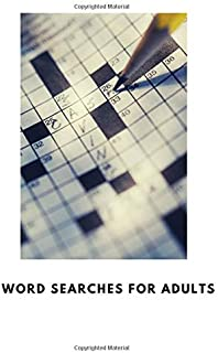 word searches for adults: This book is crossword puzzle books for adults dementia or crossword puzzle books hard for adults
