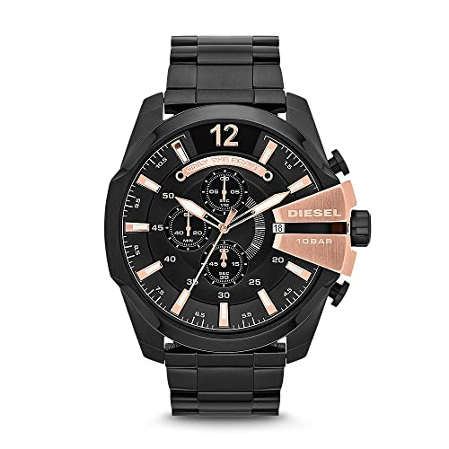 Diesel DZ4309 - Reloj para hombres, de cuarzo, de acero inoxidable
