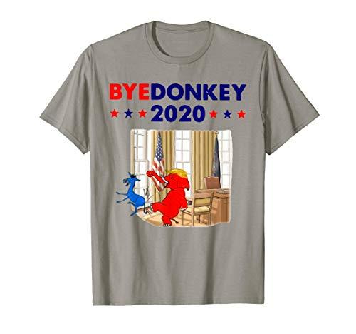 Elephant Trump Bye Donkey 2020 Funny T-Shirt