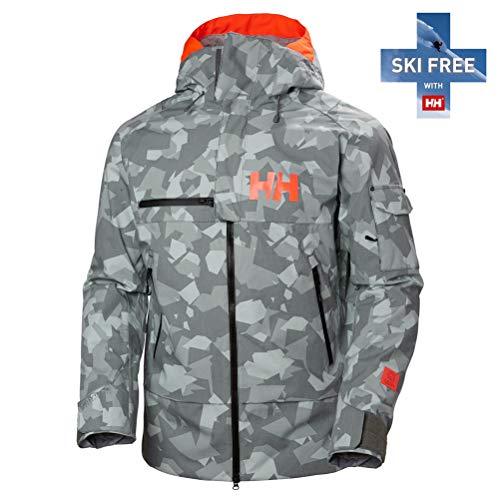 Helly-Hansen Men's Garibaldi Jacket, 971 Quiet Shade Camo, Medium