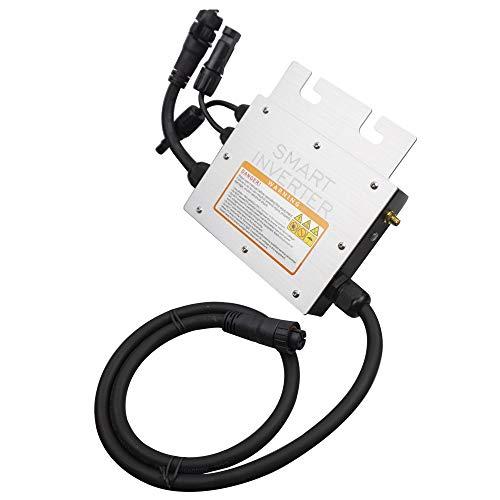 Micro Inverter 200W 350W 700W Micro Inverter Microinversador Solar en el inversor de la Corbata de la Rejilla 24V 36V DC a 110V 220V para 60 72 células Placa Solar Grid Inverter