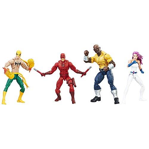 Marvel Legends Series The Defenders Figure 4pack Amazon Exclusive