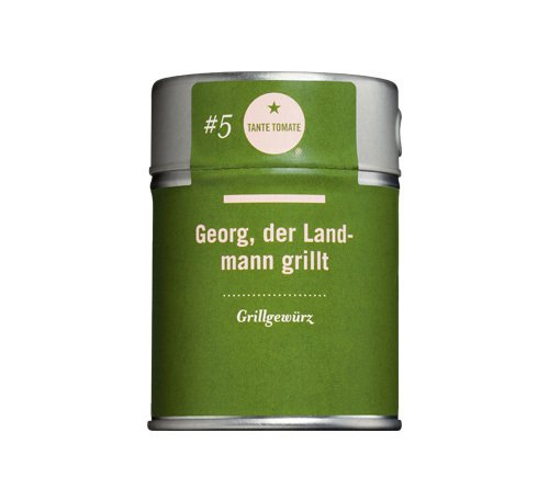 Tante Tomate - Georg, der Landmann grillt - Grillgewürz - Gewürzmischung 60g