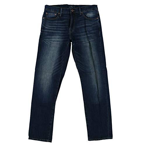 Lucky Brand Mens 363 Straight Fit Jeans (34x34, Carburton Dark Wash)
