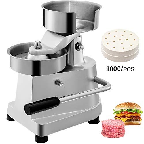 CUGIA Hamburgatrice Diametro 130mm/5pollici Hamburger Pressa Manuale Macchina per Hamburger Tortino per Hamburger Commerciale