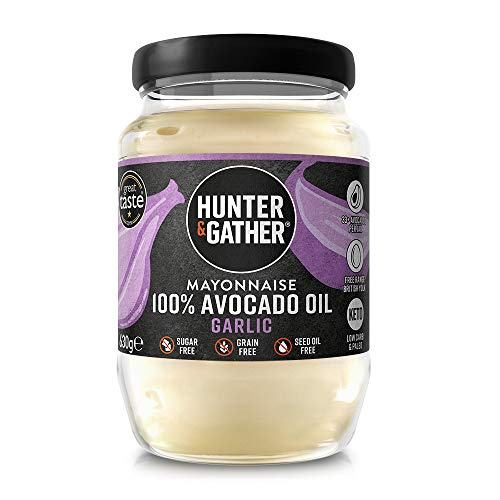 Hunter & Gather Mayonesa de Aceite de Aguacate con Ajo y Pimienta...