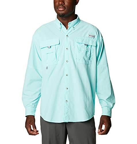 Columbia Bahama II Chemise à Manches Longues pour Homme Bahama II L/S, Homme, 101162, Gulf Stream/Realtree Edge, 1X