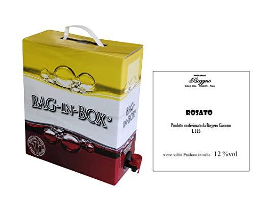 Boggero Bogge Wine - Rosato Bag in box 5 L