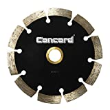 Concord Blades SSB040A10CP 4' General Purpose Premium Segmented Diamond Blade for cutting Concrete, Brick, light weight Block, Pavers, Field Stone, and Masonry materials and stone